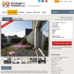 Offre #42470 - Échange de maisons
