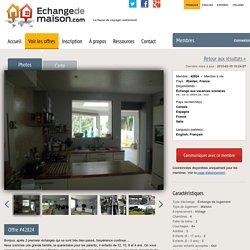 Offre #42824 - Échange de maisons