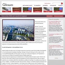 Pour un choc d'offre sur le marché du logement | Les Gracques