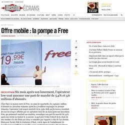 Offre mobile : la pompe a Free