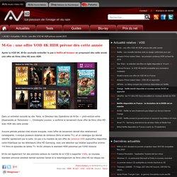 M-Go : une offre VOD 4K HDR prévue courant 2015