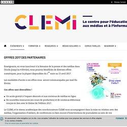 Offres 2017 des partenaires- CLEMI