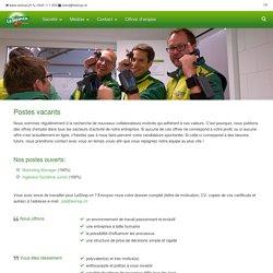 Offres d'emploi ‹ LeShop SA