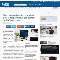 """Sites d'offres d'emploi : notre banc d'essai des principaux """"job boards"""" destinés aux cadres"""