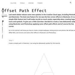 Offset Path Effect