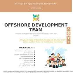 Offshore Software Development Team India