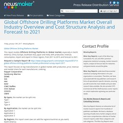 Global Offshore Drilling Platforms Market Overall Industry Overview and Cost Structure Analysis and Forecast to 2021