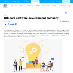 Offshore software development company