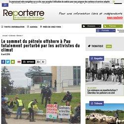 Le sommet du pétrole offshore à Pau totalement perturbé par les activistes du climat