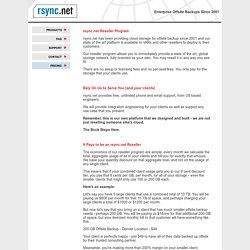 rsync.net - Secure Offsite Backups, Offsite Data Storage and Remote Encrypted Filesystems