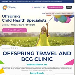 Offspring Travel and BCG Clinic - OffspringHealth