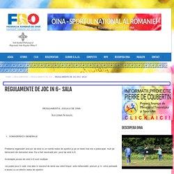 Site-ul oficial al Federatiei Romane de Oina