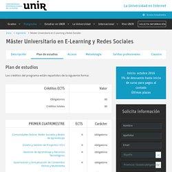 Máster Oficial en E-Learning y Redes Sociales