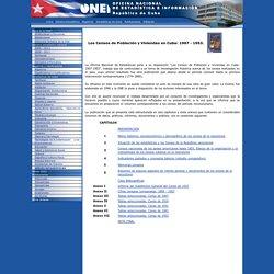 Oficina Nacional de Estadísticas. Cuba