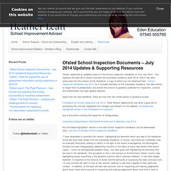 Ofsted School Inspection
