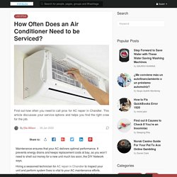How Often Does an Air Conditioner Need to be Serviced?