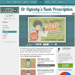 Dr Oglesby's Funk Prescription - Scirra Store