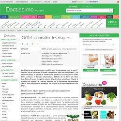 OGM: connaître les risques
