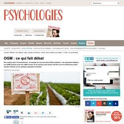 OGM : ce qui fait débat