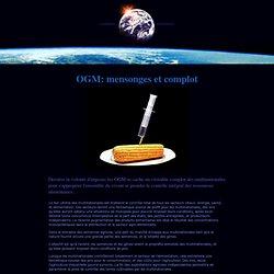 OGM: mensonges et complot