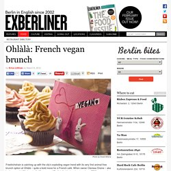 Ohlàlà: French vegan brunch