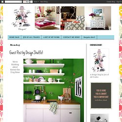Guest Post by Design Shuffle!
