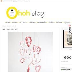 Plastic Hearts Mobile - Valentine's Day
