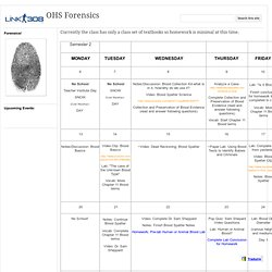 OHS Forensics