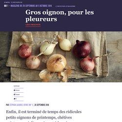 Gros oignon, pour les pleureurs - Oui ! Le magazine de la Ruche Qui Dit Oui !
