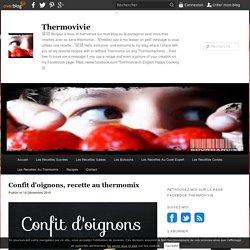 Confit d'oignons, recette au thermomix