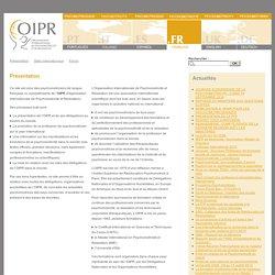 OIPR - Psychomotricité