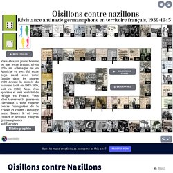 Oisillons contre Nazillons by helene.simon-loriere on Genially