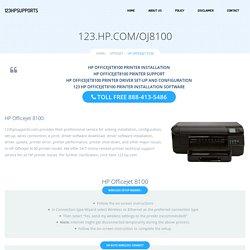 123.hp.com/oj8100 - HP Officejet 8100 Install & Setup