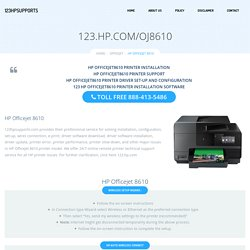 123.hp.com/oj8610Setup HP Officejet 8610 Software & Driver Setup
