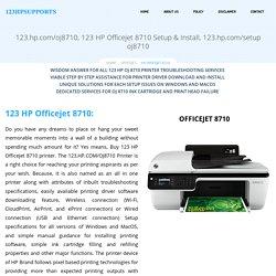 123.hp.com/oj8710 - HP Officejet 8710 Install & Setup