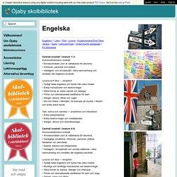 Öjaby skolbibliotek - Engelska