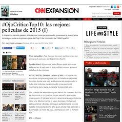 #OjoCríticoTop10: las mejores películas de 2015 (I) - Lifestyle