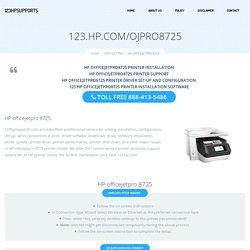 123.hp.com/ojpro8725 - HP officejetpro 8725 Install & Setup