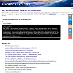Ship Okeanos Explorer: Live Video Stream