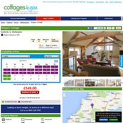 Holiday cottages in the UK, France, Ireland, Spain and Portugal