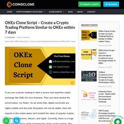 OKEx Clone App Development