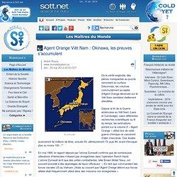 Essais armée US île Okinawa sud Japon