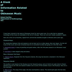 Okinawan Music