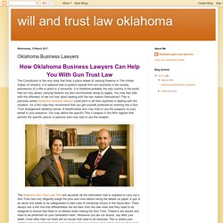 Personal Injury Lawyers in Oklahoma