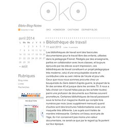 OkO · Biblio-Blog-Notes