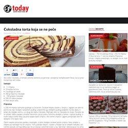 Čokoladna torta koja se ne peče Recepti u Dlanu