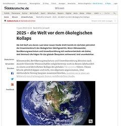Die Zeit: 2025 - die Welt vor dem ökologischen Kollaps