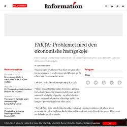 FAKTA: Problemet med den økonomiske hængekøje