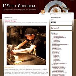 Okonomiyaki ! | L'Effet Chocolat