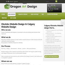 Okotoks – Web Design – Calgary